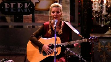 peli o manta. musica friends. Phoebe