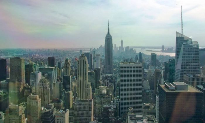 NY x6. Peli o Manta. Top of the Rock