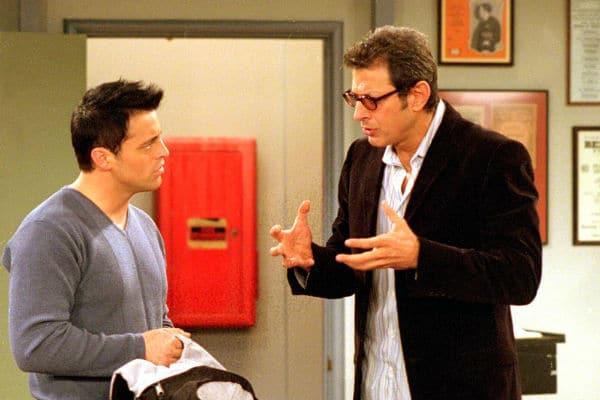 peli o manta. cameos. Jeff Goldblum