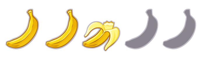 Bananas cine. Peli o Manta. 2'5