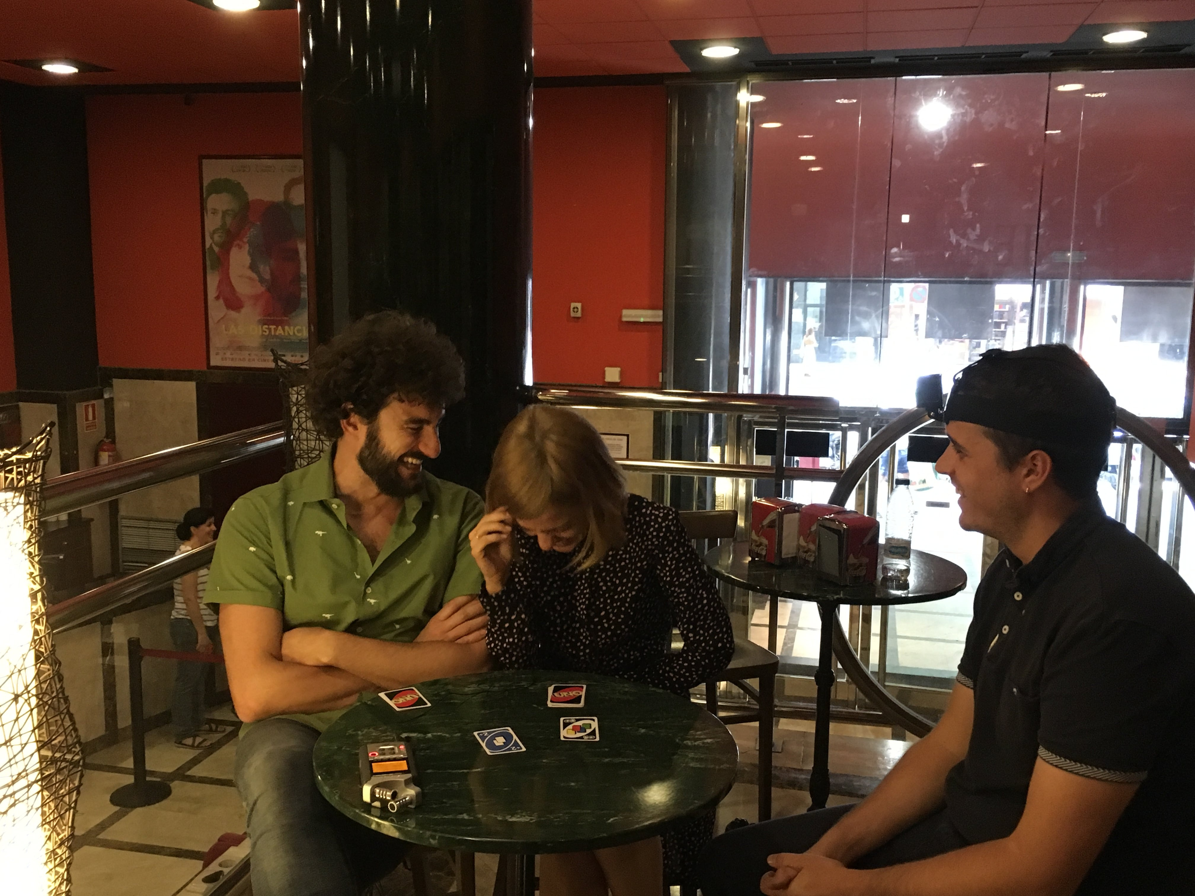 Peli o Manta. Entrevista Alexandra Jiménez y Miki Esparbé. Las distancias