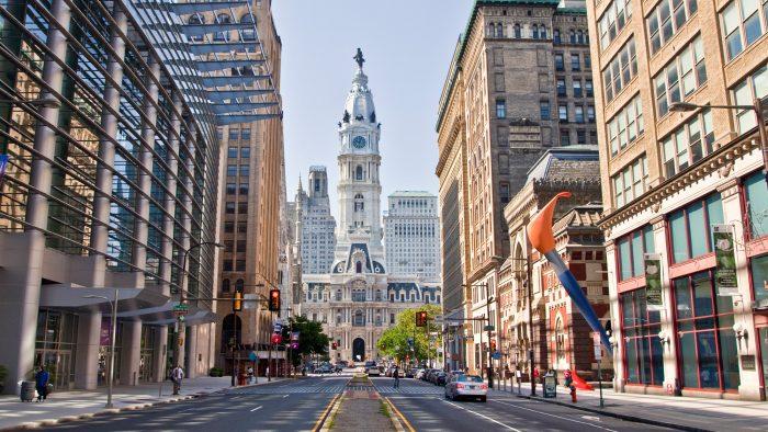 Peli o manta. 3 dias en Filadelfia. Ayuntamiento
