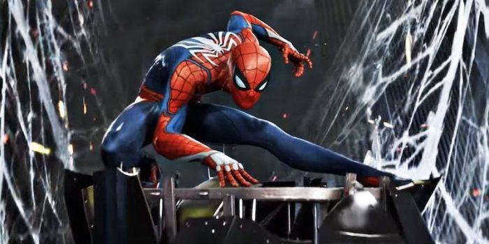 Peli o manta. spider-man.pose1
