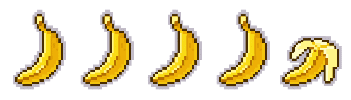 Bananas. Peli o Manta. 4'5 videojuegos