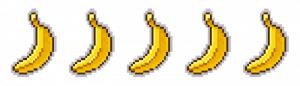 Bananas. Peli o Manta. 5 videojuegos