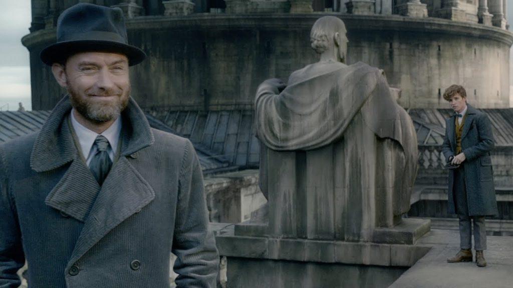 Animales fantásticos 2. Peli o Manta. Dumbledore