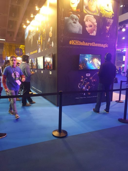 Peli o manta. Barcelona Games World. Kingdom Hearts 3