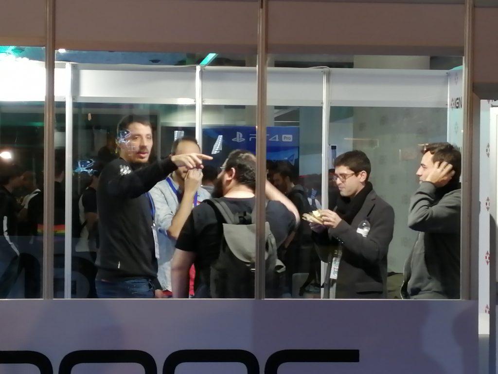 Barcelona Games World. Peli o Manta. 3DJuegos 2