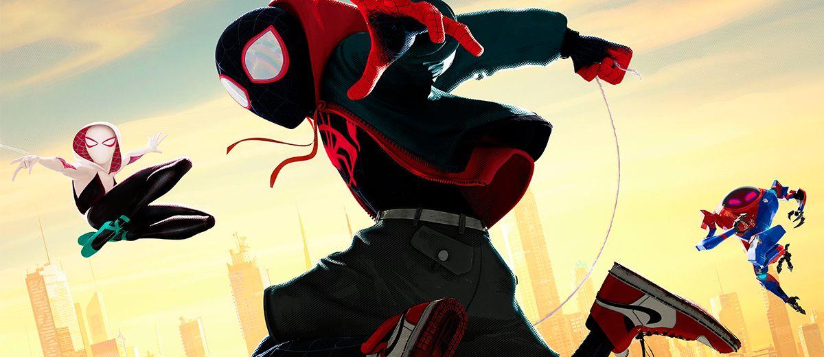 Spider-Man: Un nuevo universo. Peli o Manta. Portada
