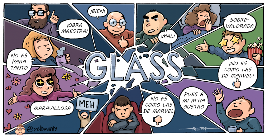 Peli o Manta. Glass