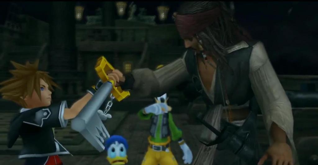 Kingdom Hearts y Disney. Peli o Manta. Jack Sparrow
