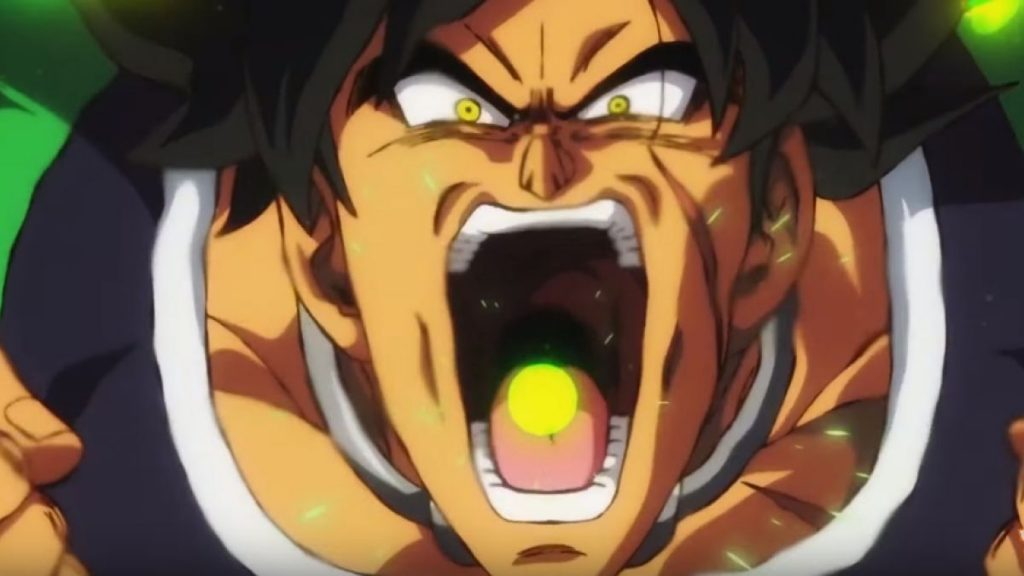Dragon Ball Super Broly. Peli o Manta. Broly