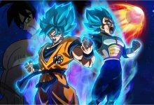 Dragon Ball Super Broly. Peli o Manta. Portada