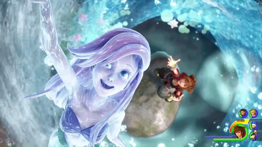 Peli o manta. review kingdom hearts 3. Ariel