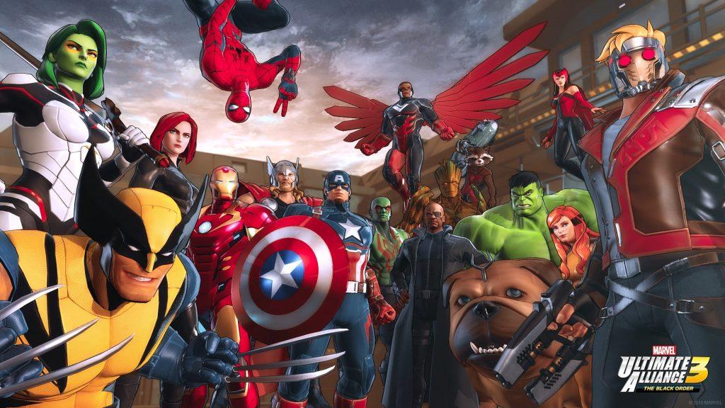Nintendo Direct de febrero. Peli o Manta. Marvel Ultimate Alliance 3
