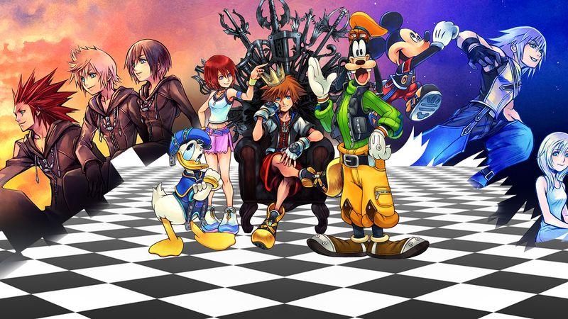 Peli o Manta. Retorno al mundo Disney Kingdom Hearts 3. All