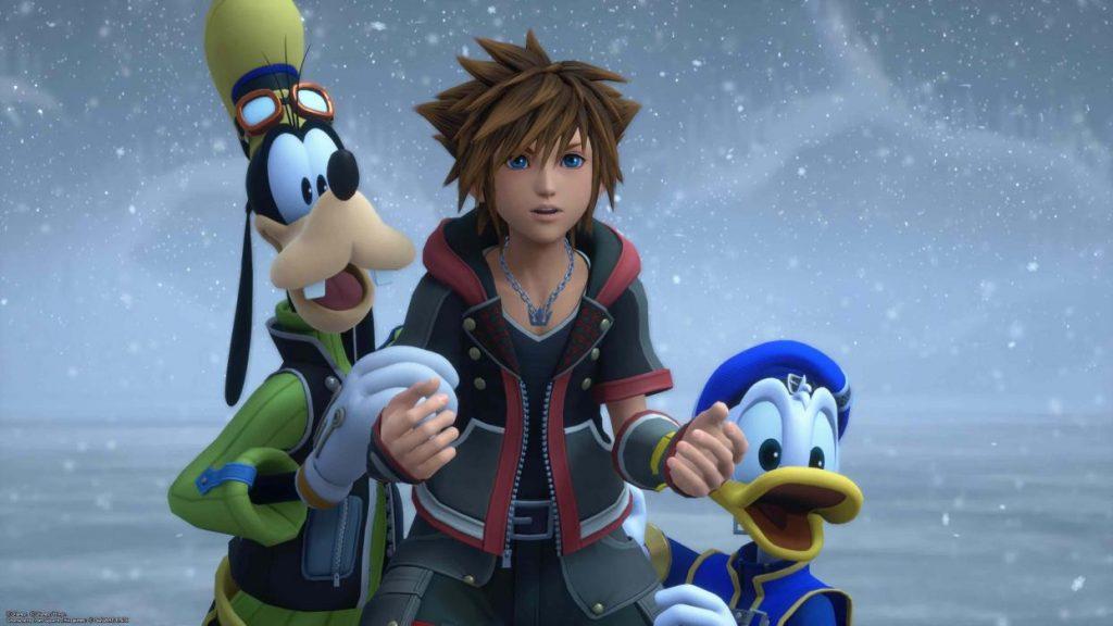 Peli o Manta. Retorno al mundo Disney Kingdom Hearts 3. SGD