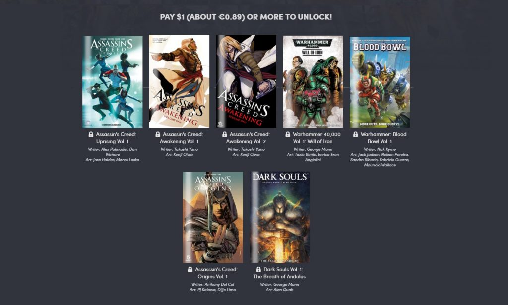 Gaming Comics 2019. Peli o Manta. 1 euro