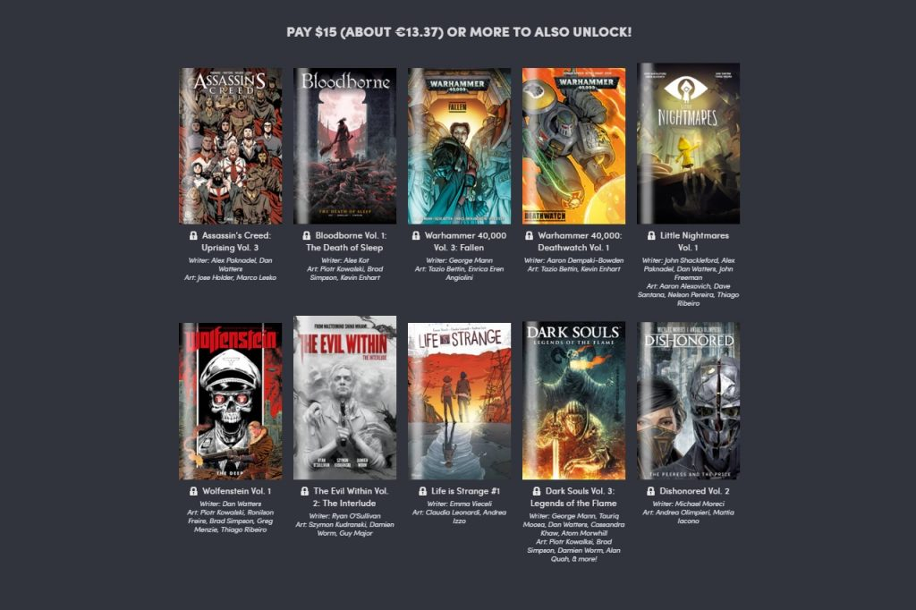 Gaming Comics 2019. Peli o Manta. 15 euros