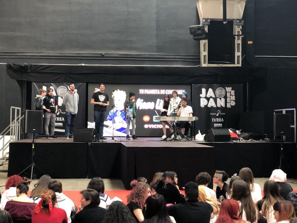 Barcelona Japan Weekend 2019. Peli o Manta. Tu pianista de confianza