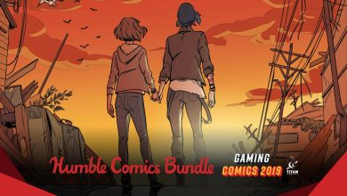 Peli o Manta. Humble Bundle Gaming comics
