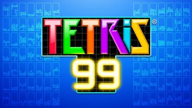 Tetris 99. Peli o Manta. Tetris Battle Royale