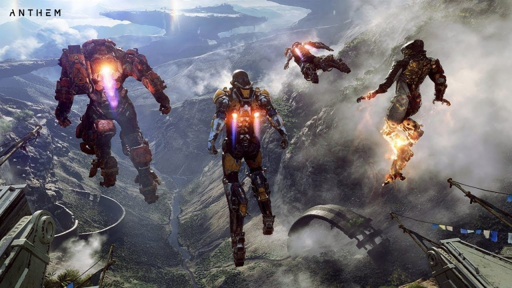 Review Anthem Peli o Manta. Volar