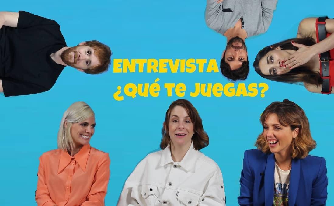 Entrevista a Inés de León y el resto por ¿Qué te juegas?. Peli o Manta. Thumbnail cutre
