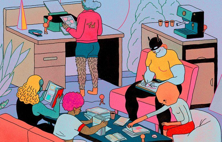 Peli o Manta. Viviendo (en) el saló del cómic Barcelona 2019. Cartel