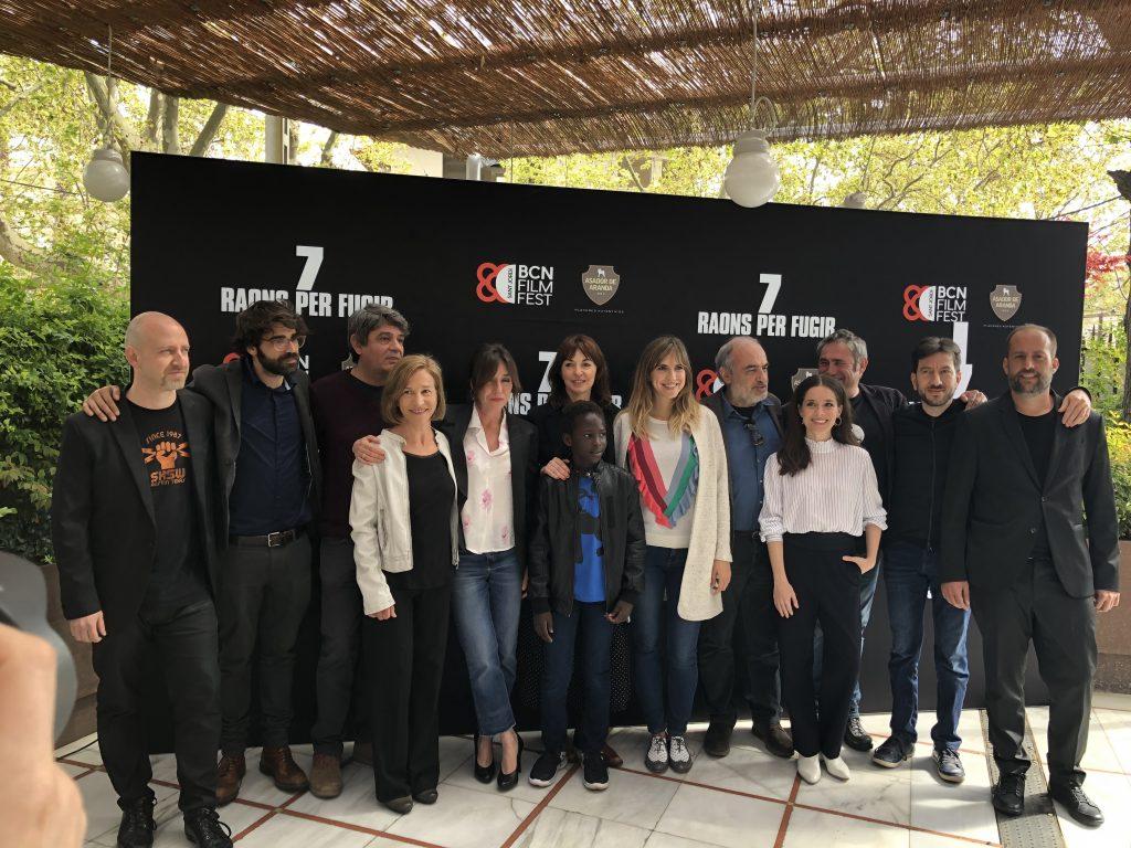 Peli o Manta. Presentación de la programación del BCN Film Festival. Elenco 7 raons per fugir