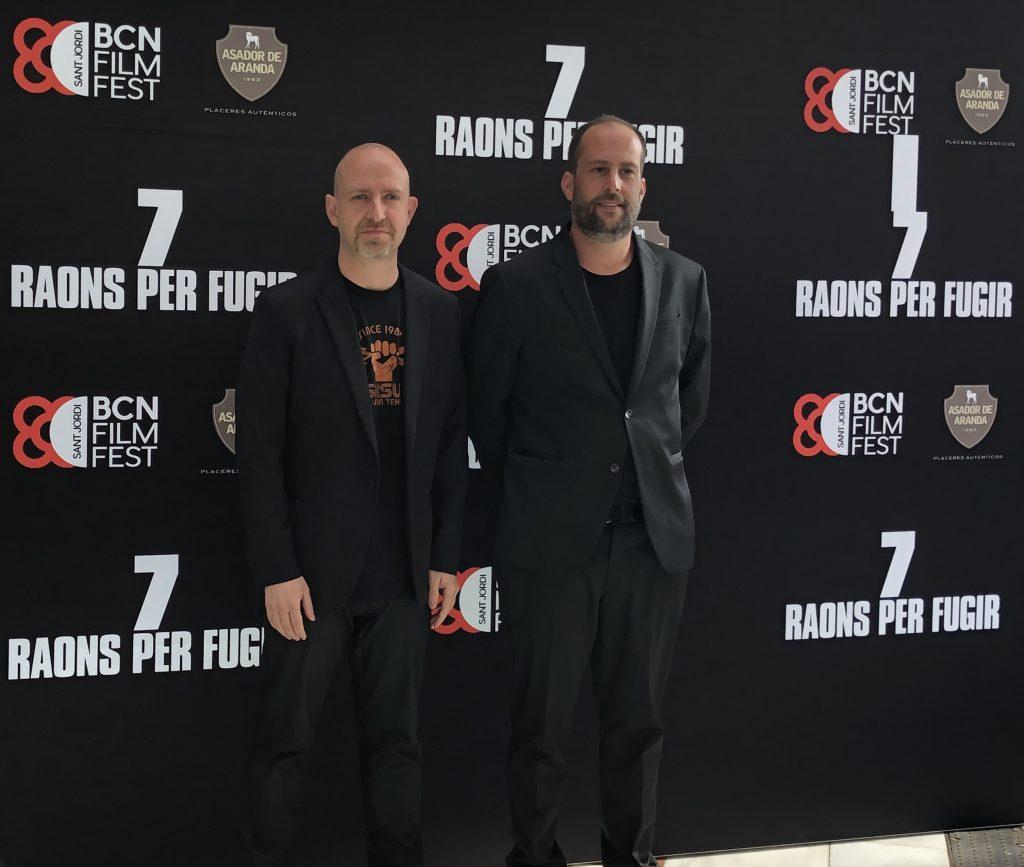 Peli o manta. Presentación de la programación del BCN Film Fest. Directores 7 raons per fugir