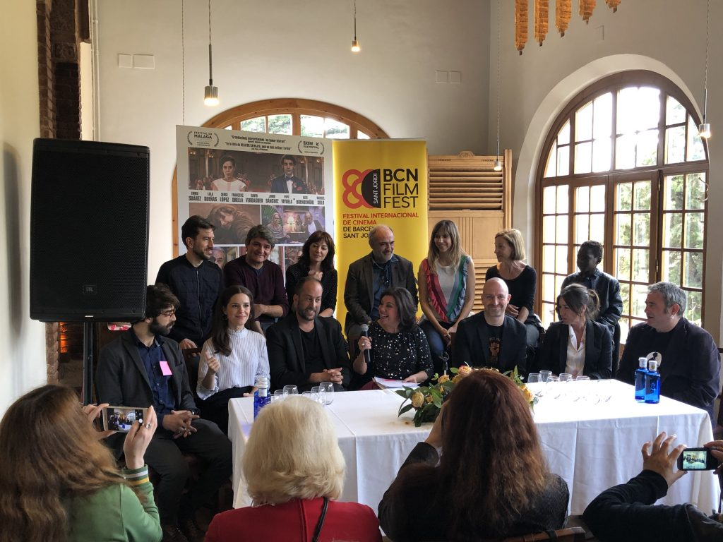 Peli o manta. Presentación de la programación del BCN Film Fest. 7 raons per fugir