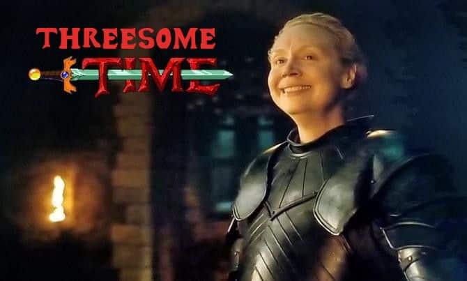 Memes Juego de tronos 8x02. Peli o Manta. Brienne of Tarth