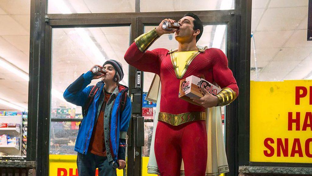 Peli o Manta. Crítica ¡Shazam!. Shazam  cerveza.