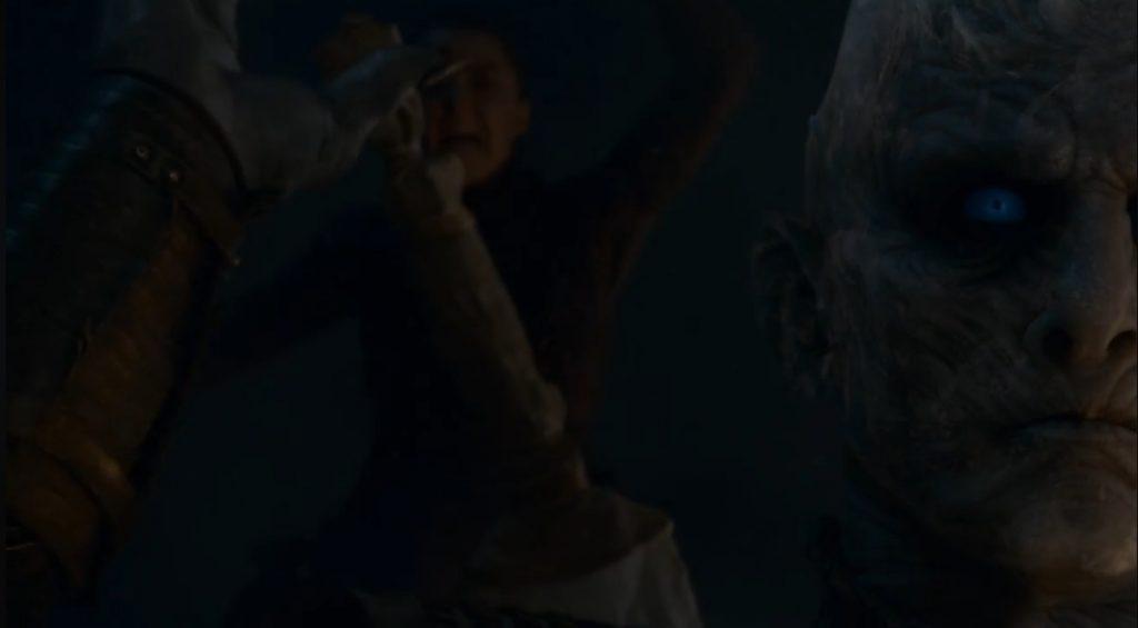 Resumen Juego de tronos 8x03. Peli o Manta. Arya y el Rey de la noche