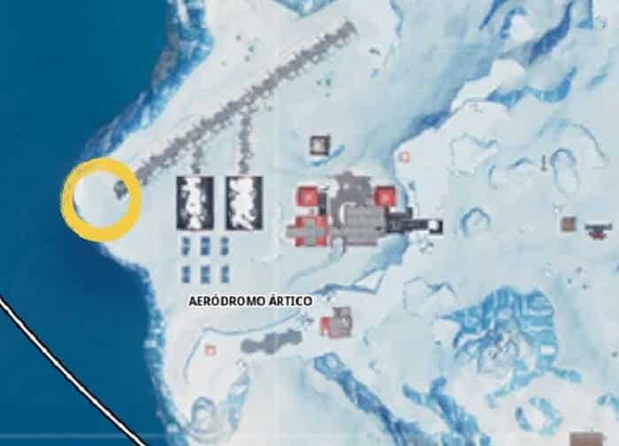 Semana 8 temporada 8. Peli o Manta. Busca el tesoro de Aeródromo Ártico