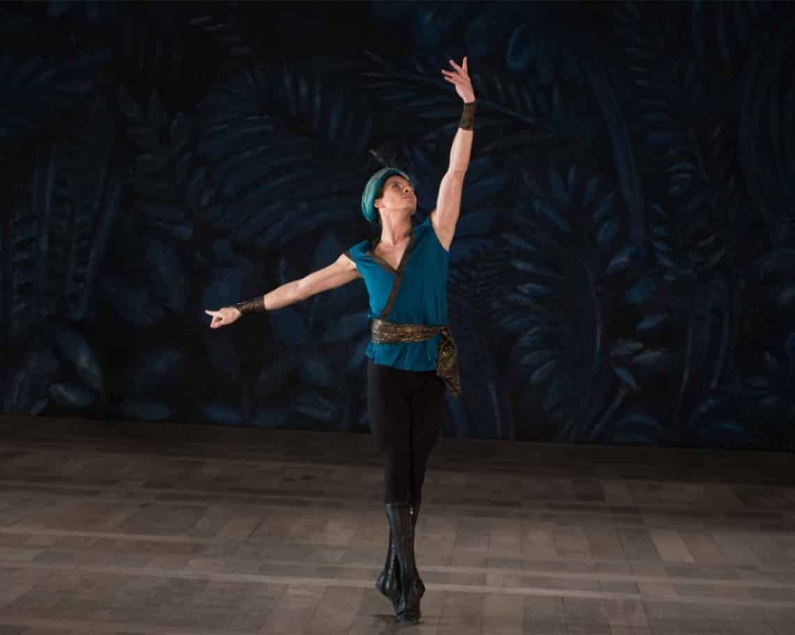 peli o manta. el bailari. Rudolf Nureyev