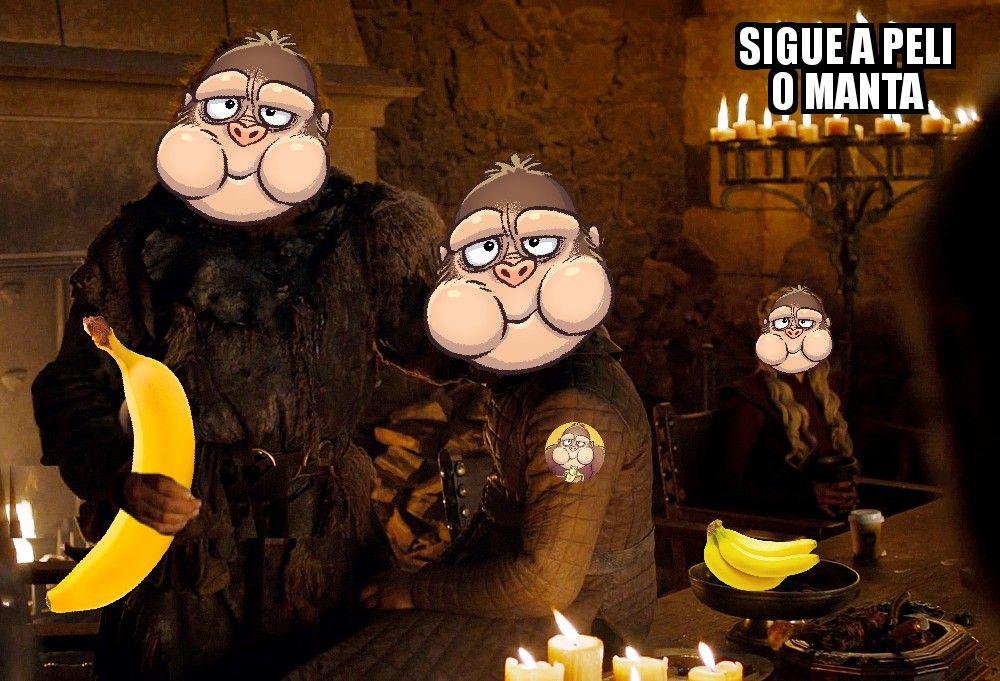 Memes Juego de tronos 8x04. Peli o Manta. La súper promoció