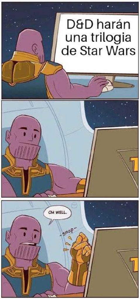 Memes-Juego-de-tronos-8x05.-Peli-o-Manta.-DD-Thanos-Star-Wars