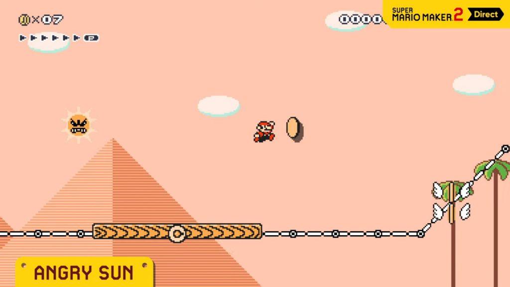 Nintendo-Direct-Mario-Maker-2.-Peli-o-Manta.-Angry-Sun