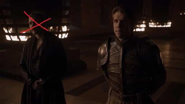 Personajes irrelevantes Juego de tronos. Peli o Manta. Harry Strickland