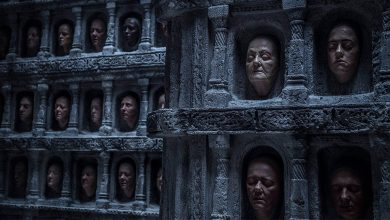 Personajes irrelevantes de Juego de tronos. Peli o Manta. Hall of faces