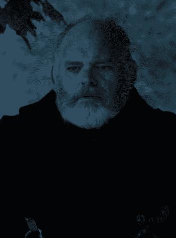 Personajes irrelevantes de Juego de tronos. Peli o Manta. Maester Wolkan