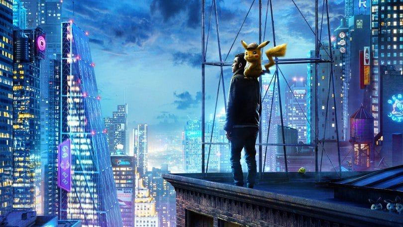 Pokémon Detective Pikachu. Peli o Manta. Cartel película