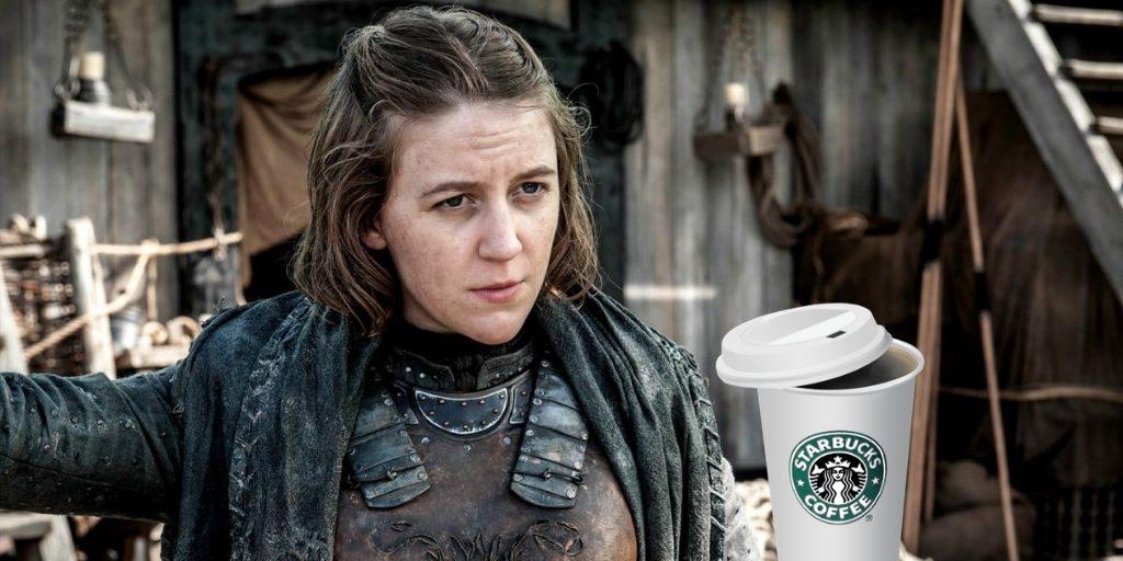 Starbucks y el trono de hierro. Peli o manta. Asha Greyjoy