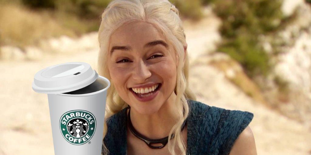 Starbucks y el trono de hierro. Peli o manta. Daenerys Targaryen