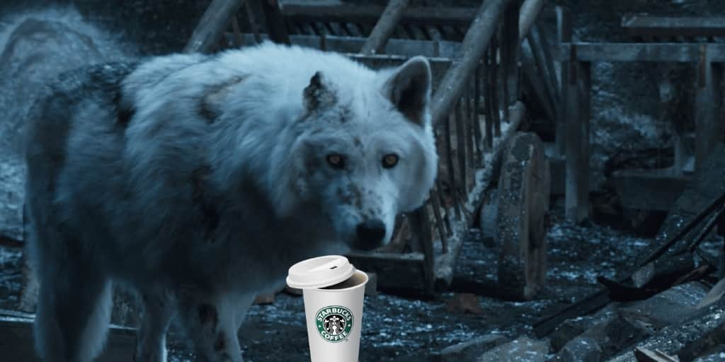 Starbucks y el trono de hierro. Peli o manta. Fantasma