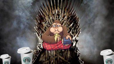 Starbucks y el trono de hierro. Peli o manta. Kong en el trono