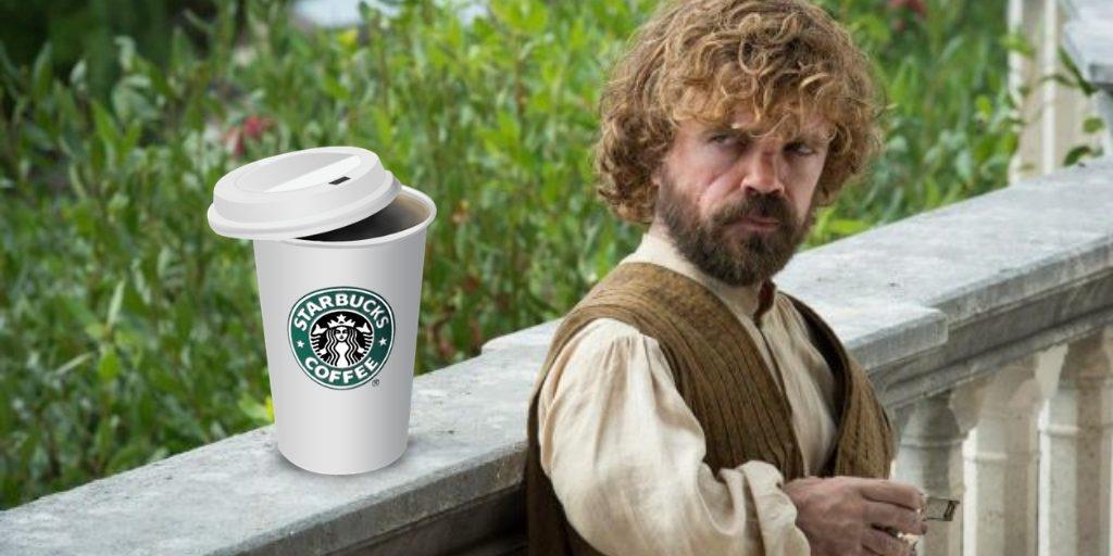 Starbucks y el trono de hierro. Peli o manta. Tyrion Lannister