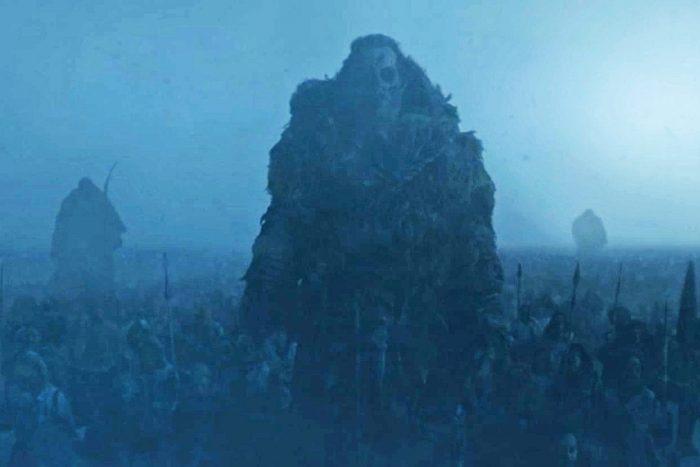 peli o manta. errores juego de tronos. ejército de los muertos